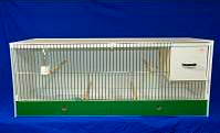 JH Single Breeding Cages - Budgie, Parakeets, lovebirds 102x40x40 (16P113)