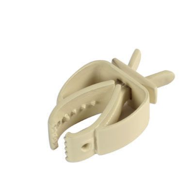 CUTTLE FISH CLIPS, WHITE PLASTIC 11K57