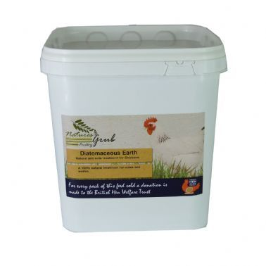 NATURES GRUB DIATOMACEOUS EARTH 2KGS BUCKET